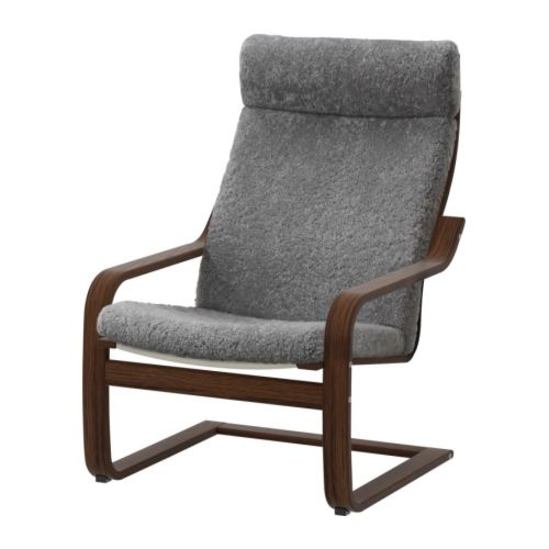 Ikea Poang Chair - Lockarp Gray $249Living Room