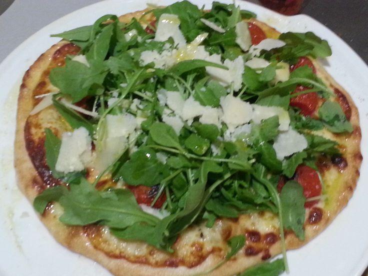 Pizza come in pizzeria, ma con il forno di casa!!