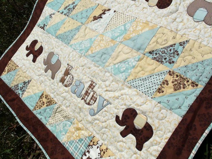 Pachyderm Procession Quilt Pattern Baby Quilts Quilt