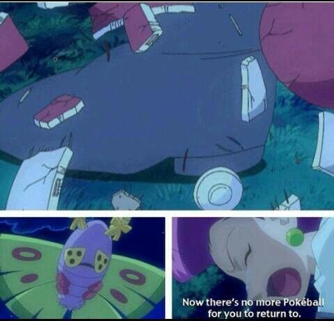 Jesse and James are great trainers; they really love their pokemon. I think they're even better than Ash