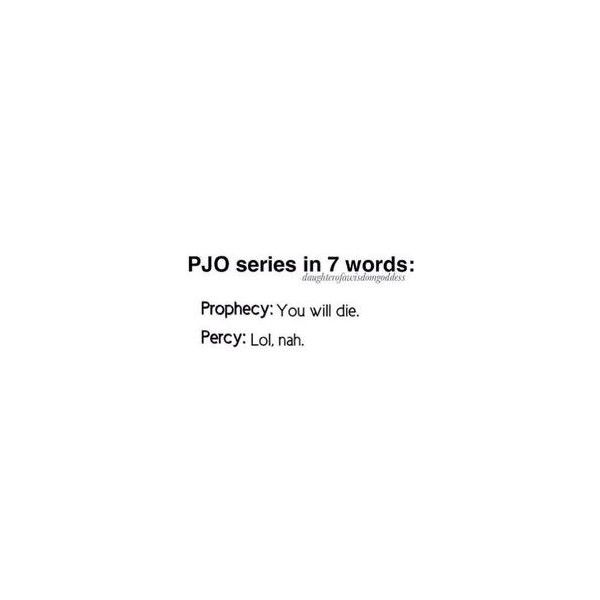 Camp Half Blood ❤ liked on Polyvore featuring percy jackson, text, quotes, fillers, other, phrase and saying