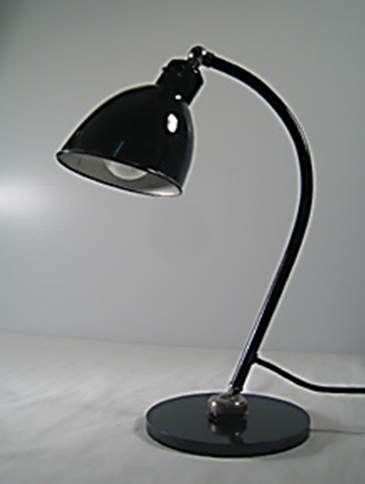 Christian Dell Bauhaus, Polo Populär, 1928   industrial design BuR Bunte udn Remmler Belmag original vintage lamp retrodesign.ch