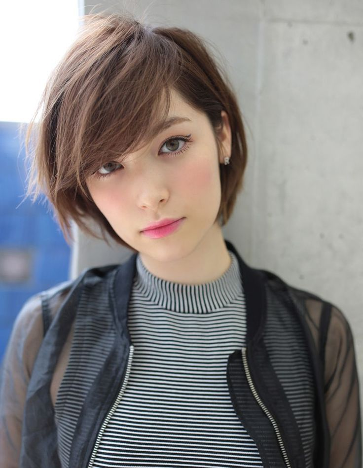 20 Charming Short Asian Hairstyles For 2020 Pretty Designs Asian Short Hair Oval Face Hairstyles Girls Short Haircuts