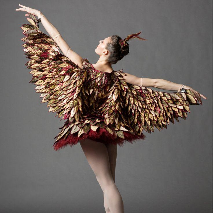 One O'Clock: The Cuckoo Bird, NYCB principcal dancer Tiler Peck. Photo by Erin Baiano.-Wmag