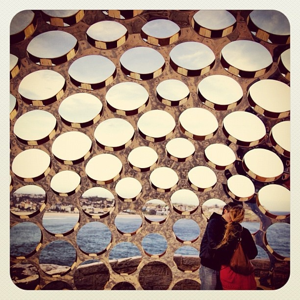 Bondi Love in the Dome #bondi #atbondi #sculpture #sydney #event #love #sculpturebythesea
