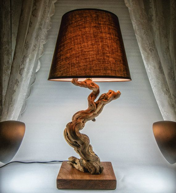 Black Friday Cyber Monday Luxurious Lamp Driftwood by MarzaShop