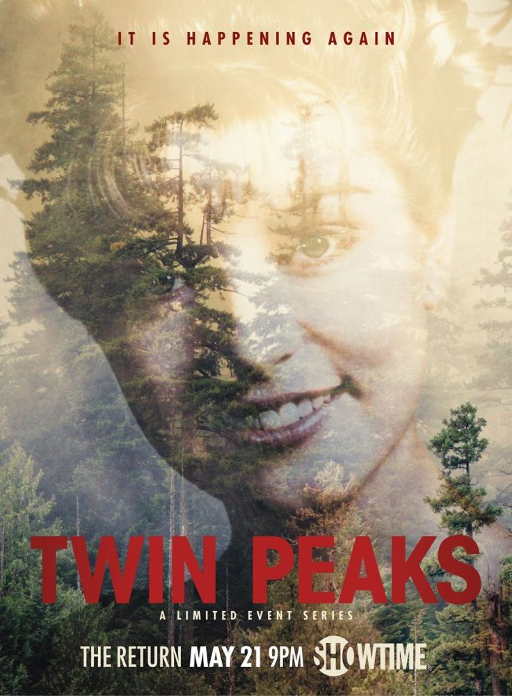 Official Twin Peaks - The Return poster: Laura Palmer