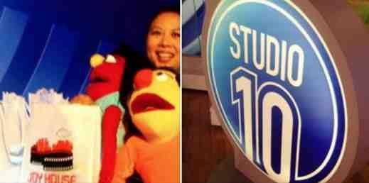 Joy Hopwood on Studio 10 for Joy House Film Festival