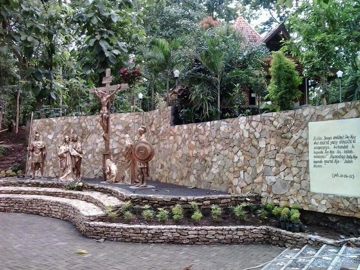 Wisata Religi Kristen Katholik Jogja: GUA MARIA SENDANG JATININGSIH - SLEMAN - YOGYAKARTA
