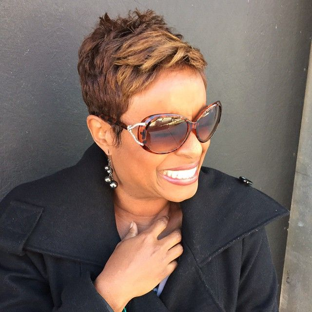 Pixie POWER! Karen Graham, FOX 5 News anchor.  #lovemyclients #liketheriversalon #thec... | Use Instagram online! Websta is the Best Instagram Web Viewer!