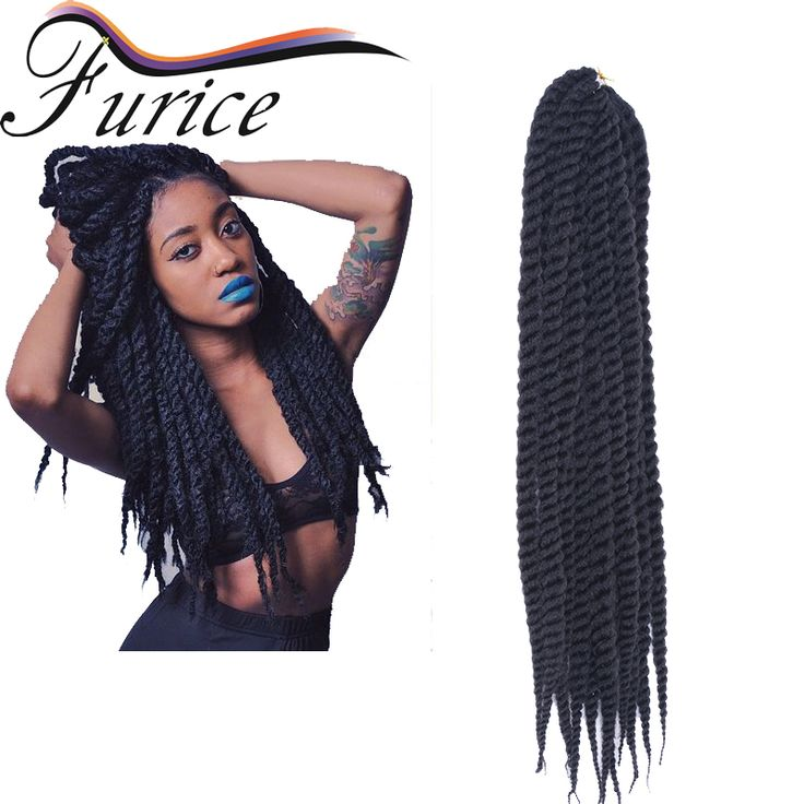 """Aliexpress.com : Buy Brown Synthetic Braiding Hair Havana Mambo Twist Crochet BraidS 18"""" Folded Afro Kinky Twist Hair Crochet Braid Hair Extensions  from Reliable hair care hair loss suppliers on crochet braiding hair extension Store"""