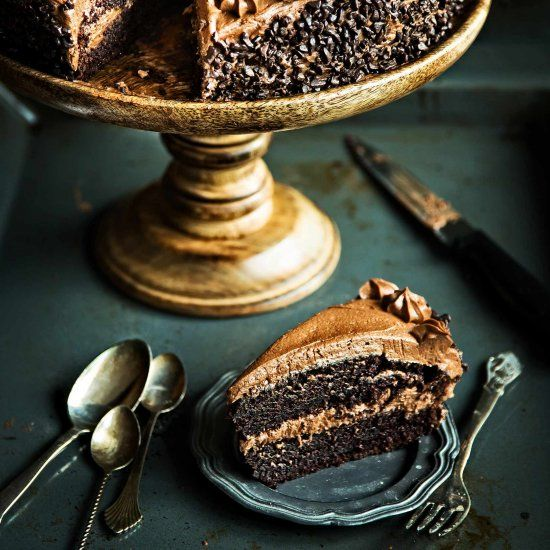 The most decadent sinfully amazing cake to make for your next birthday or any other day!