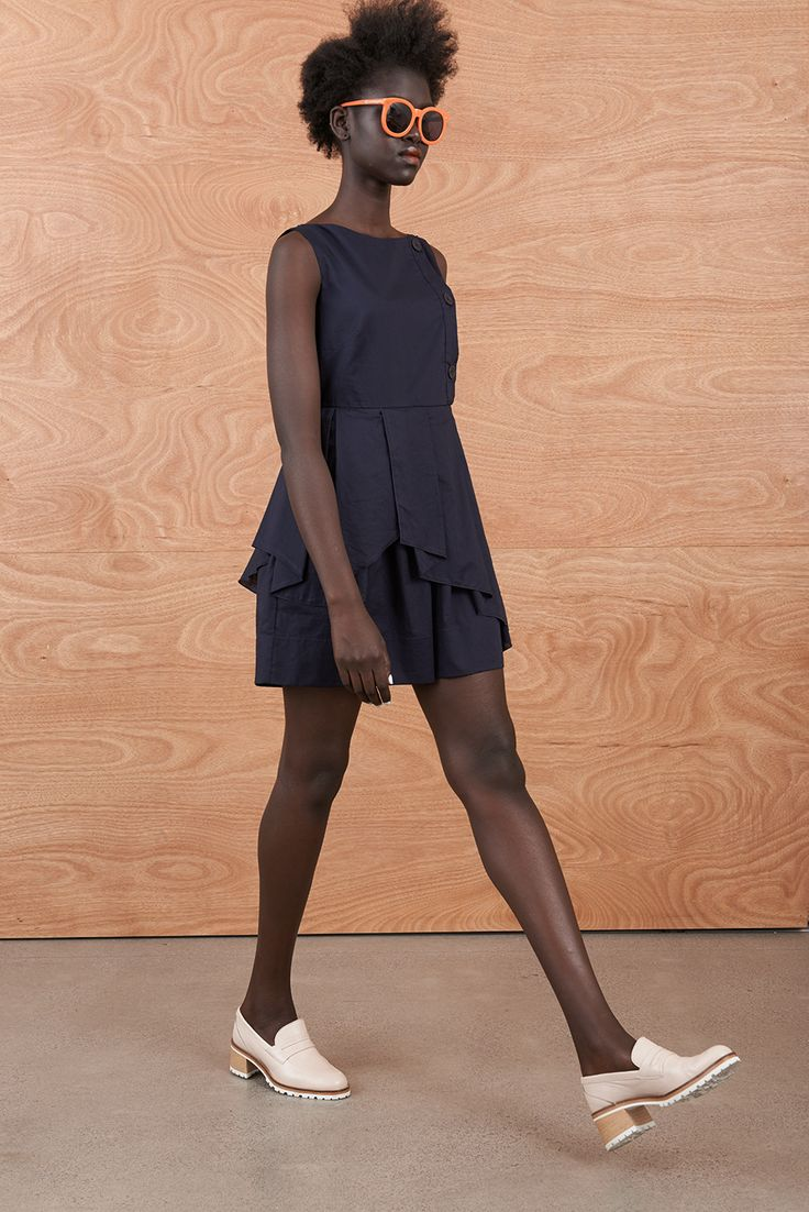 Court Dress  'Domestic Fantastic' Resort Collection http://sistersandco.co.nz/products/kwcourtdress