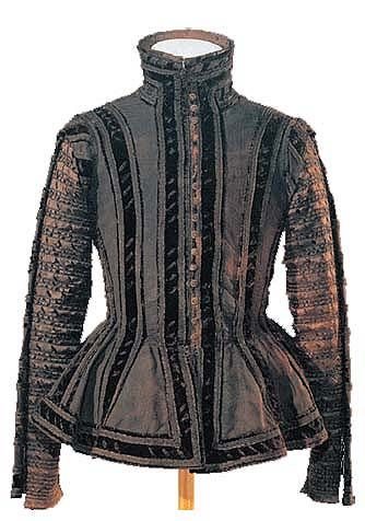 Clothing of Friendrich von Stubenberg from 1574, now in the Johanneum Styrian Regional Museum, Graz,