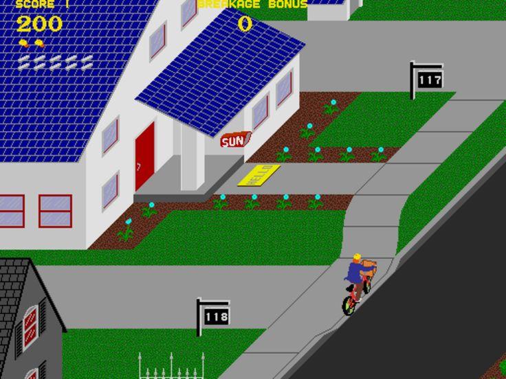 18-paperboy #retro games