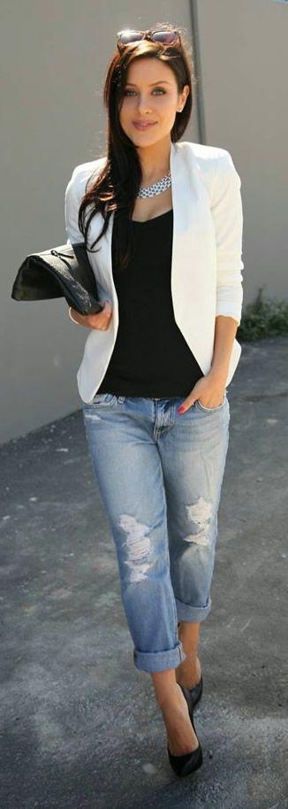 Andee Layne wearing Blazer