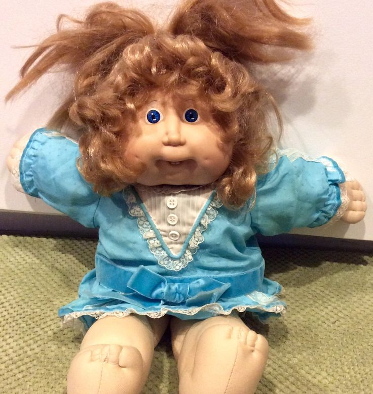 1986 Cabbage Patch Kids Cornsilk Doll With Teeth, Coleco CPK, Cabbage Patch, Vintage Cabbage Patch Kid, Cornsilk Cabbage Patch Kid, OAA by Lalecreations on Etsy