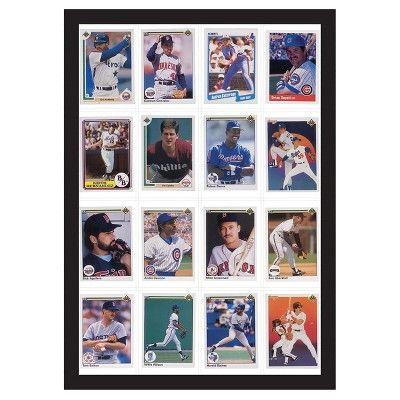 16 Baseball Card Display Case - Room Essentials, Black