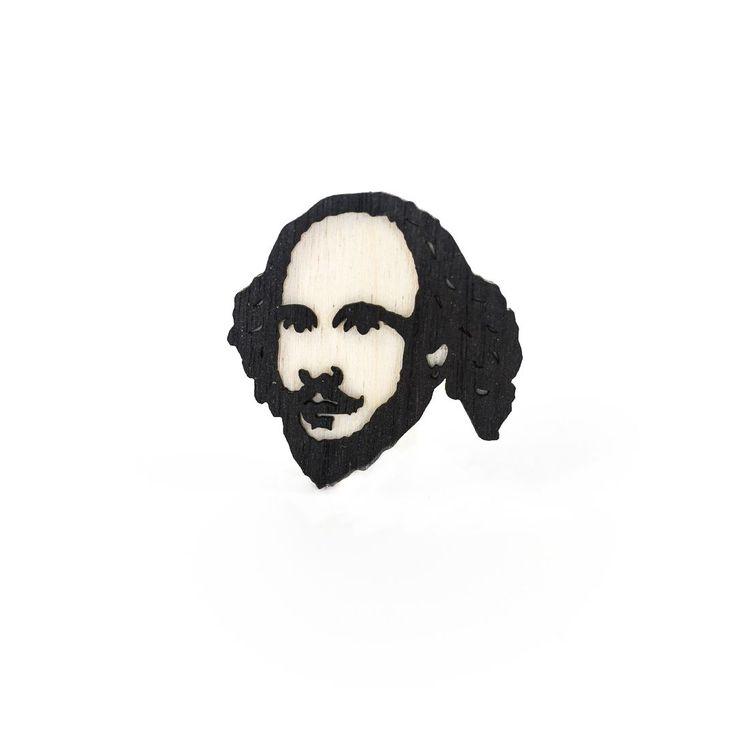 Значок Уильям Шекспир