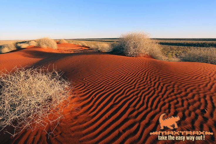 The dunes of the Simpson Desert - a must see for all 4WD enthusiasts