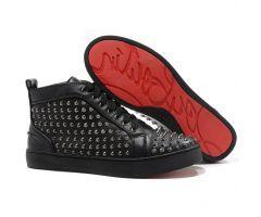 Best Cheap Christian Louboutin Louis Black Flat Spikes Men's Sneakers Black CODE: Christian Louboutin 2062 Price: $178.00 http://www.bestpricechristianlouboutin.com/best-cheap-christian-louboutin-louis-black-flat-spikes-mens-sneakers-black.html