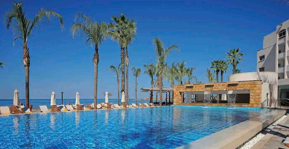 Top 5 Luxury Hotels in Paphos - Alexander The Great Beach Hotel.