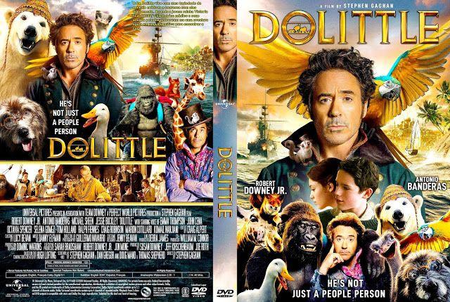 Capa Dvd Filme Dr Dolittle 2020 Em 2020 Com Imagens Capas Dvd