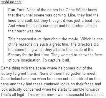 Willy Wonka Fun Fact
