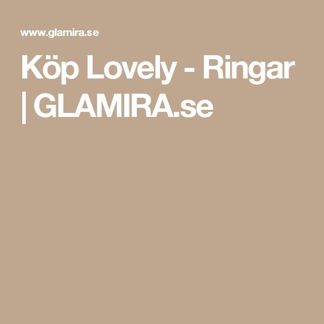 Köp Lovely - Ringar | GLAMIRA.se