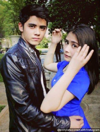 Foto Mesra Aliando dan Prilly Di lokasi Syuting