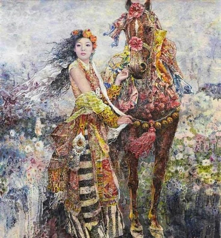 Chen Chong Ping: картины наполненные неуемной фантазией - Ярмарка Мастеров - ручная работа, handmade