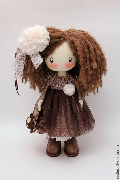 Человечки ручной работы. Ярмарка Мастеров - ручная работа. Купить Кукла Лили Кудряшка. Handmade. Текстильная кукла, кукла для девочки