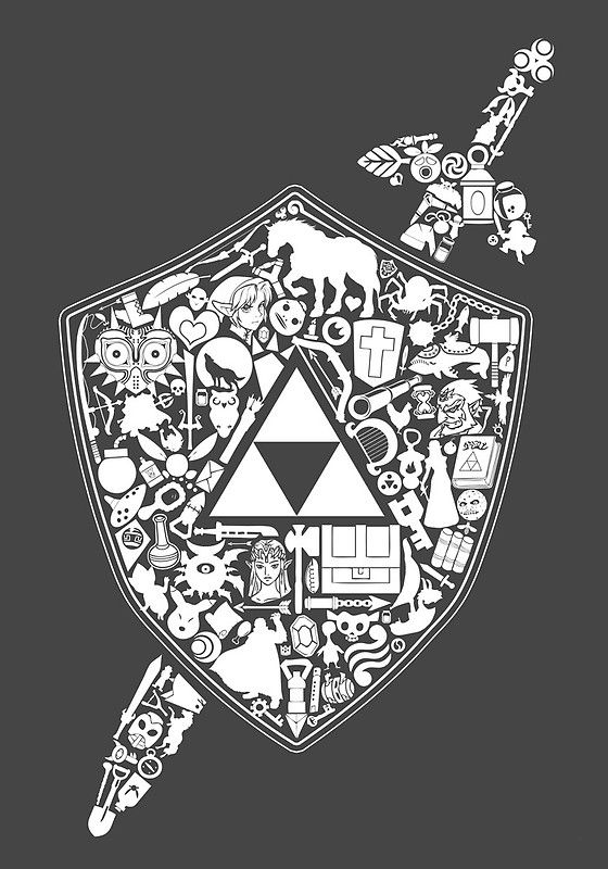 The legend continues, The Legend of Zelda artwork by The Hook Shot.