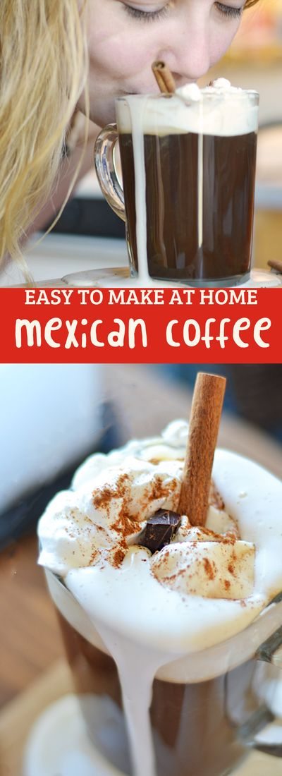 This Mexican coffee recipe is easy to make at home…