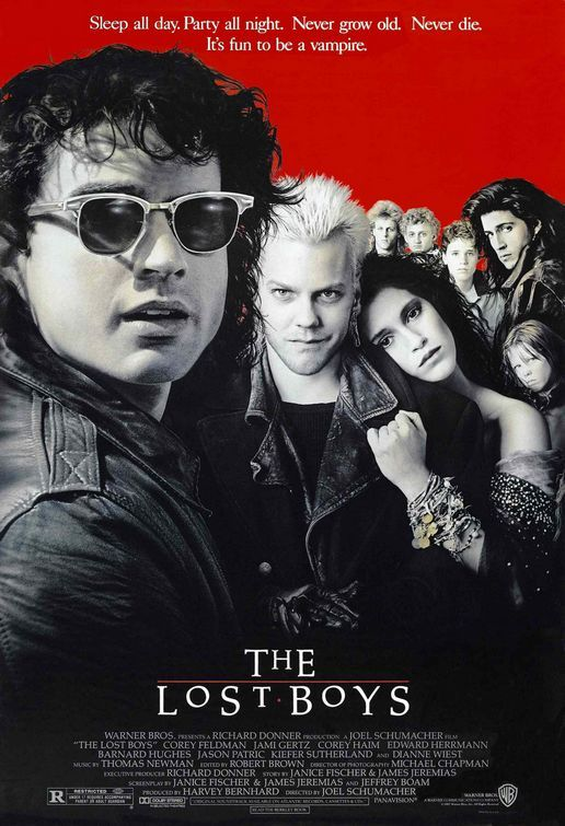 The Lost Boys---love love love this movie