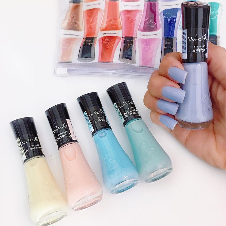 Candy Colors Nails