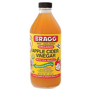 Apple Cider Vinegar (16 Ounces Liquid)   - no thoughts so far but be warned it is stronger than your traditional grocery or non organic vinegar