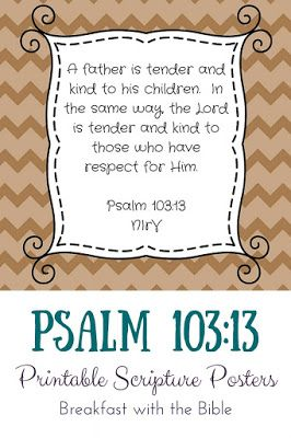 28 Best Fathers Day Bible Verses  Inspiring Scripture for