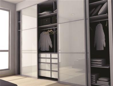 Ximula Wardrobe with Sliding doors