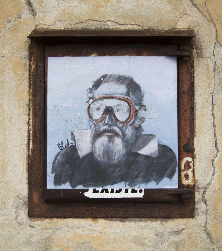 Street Art Pisa Blub - JenPhotography