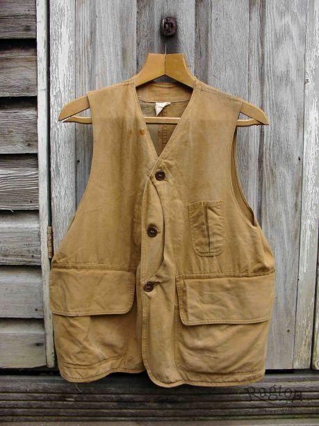 1940s Hunting Vest