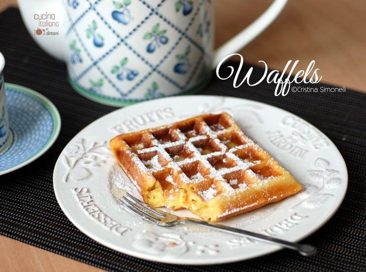 Waffel o Waffle, ricetta belga per la prima colazione e non solo