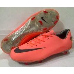 Sepatu Sepakbola Nike Mercurial 8 Orange