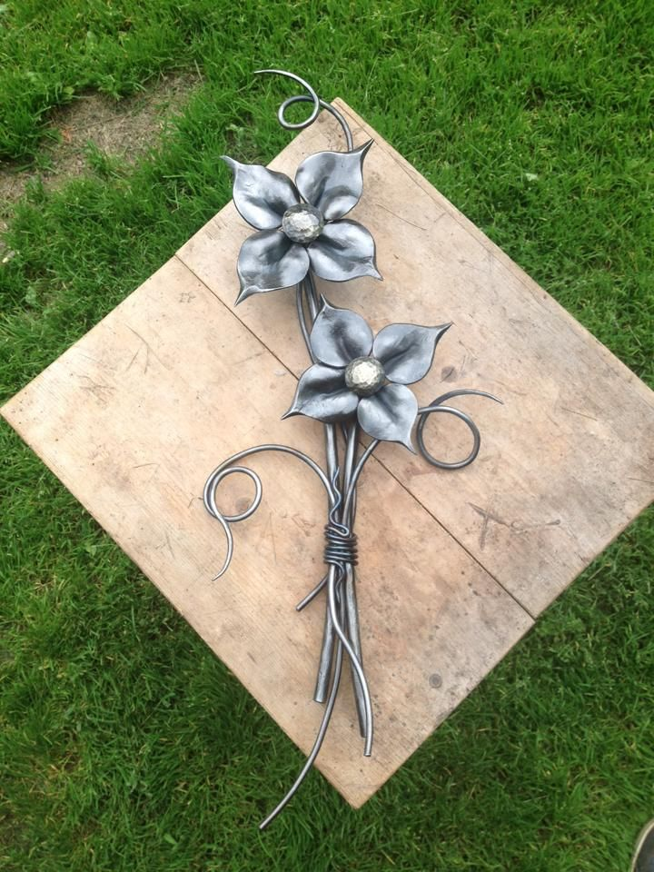 Forged and Welded Bouquet - Chris Spilak - Artfullycrooked