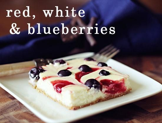 Cheesecake bars, Blueberry cheesecake and Cheesecake on ...