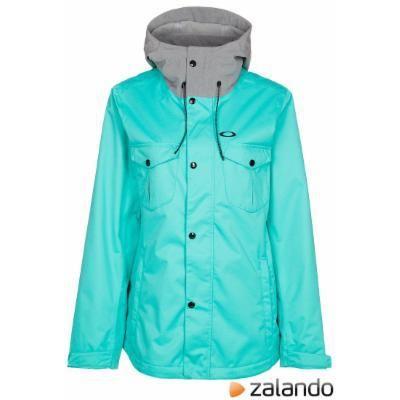 Oakley CHARLIE Ski jacket turquoise #jacket #covetme #oakley