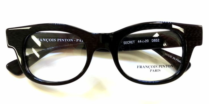 "Francois Pinton ""Secret"" eyeglass frames"
