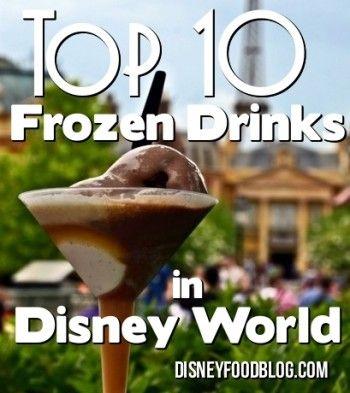Top 10 Frozen Drinks in Disney World