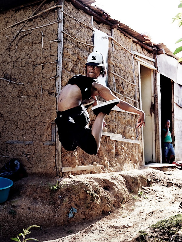 Dancer from Durban's Encore Crew. By Josh Cole