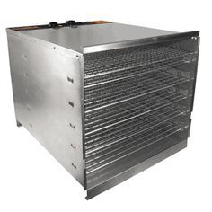 Oh I am drooling over this all stainless steel, no plastic, wonderful, wonderful food dehydrator!